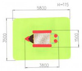 Песочница «Катерок -2»