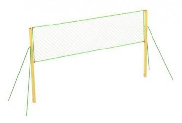 Волейбольные стойки с сеткой