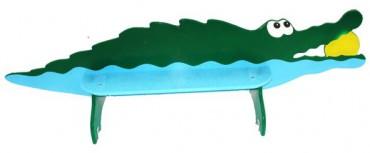 Скамья детская «Крокодил»