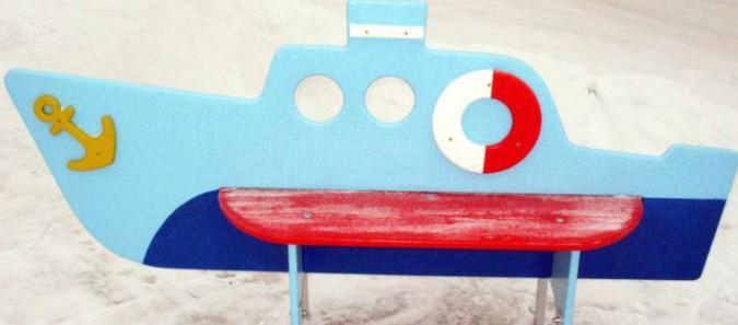 Скамья детская «Кораблик»
