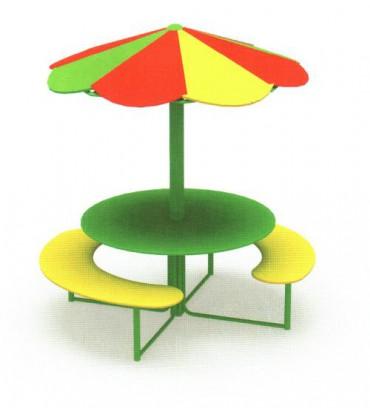 Столик с навесом «Грибок»